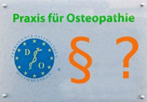 Die Rechtssituation für osteopathen ist in deutschland nicht einheitlich geklärt